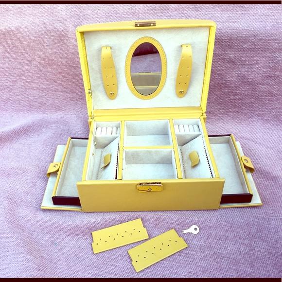 Unknown Storage Organization Travel Dresser Top Jewelry Box